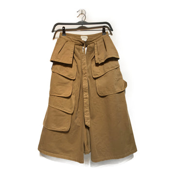 Dries Van Noten//Skirt/36/BRW/Cotton/Plain