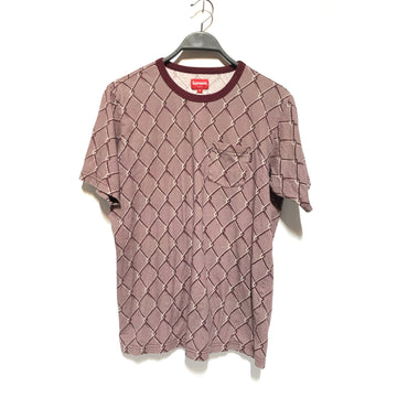 Supreme/M/T-Shirt/PPL/Cotton/All Over Print