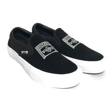 Hockey//Low-Sneakers/VANS/US8.5/BLK/Cotton/Plain