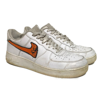 NIKE/WARREN LOTAS AIR FORCE /Low-Sneakers/US12/WHT/Leather/Plain