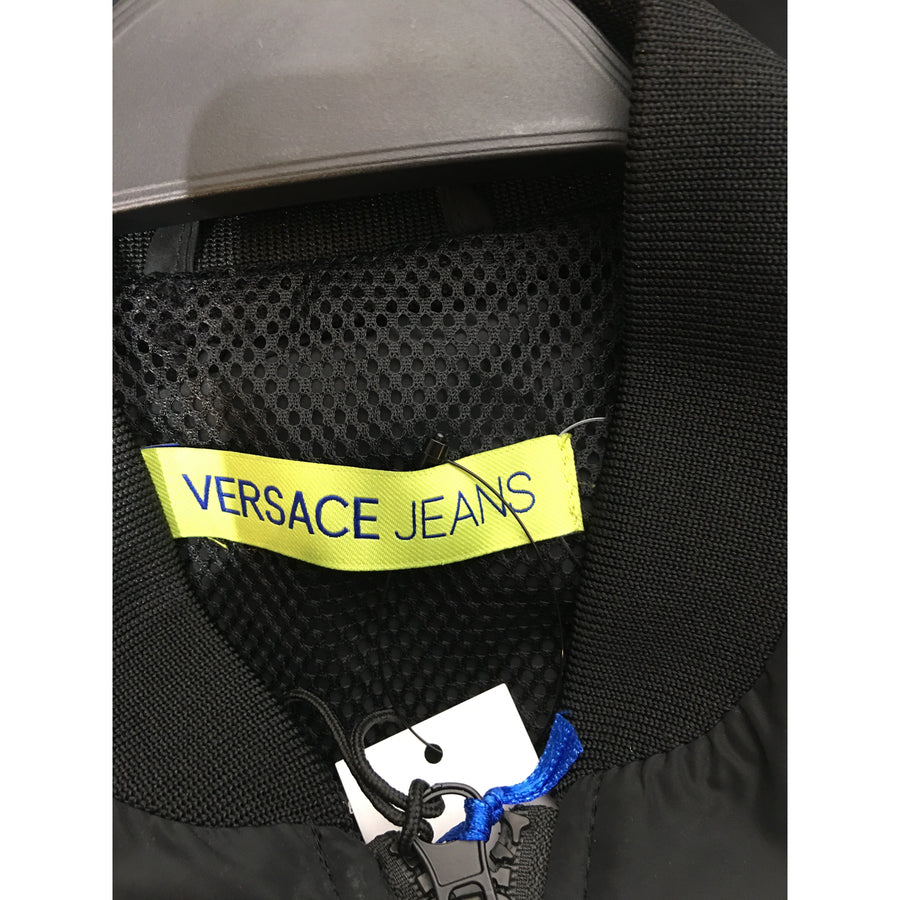 VERSACE/46/Jacket/BLK/Polyester/Graphic