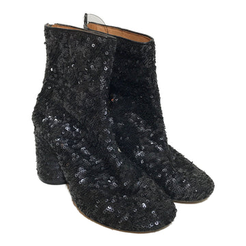 Maison Margiela//Ankle Boots/EU37/BLK/Others/Plain