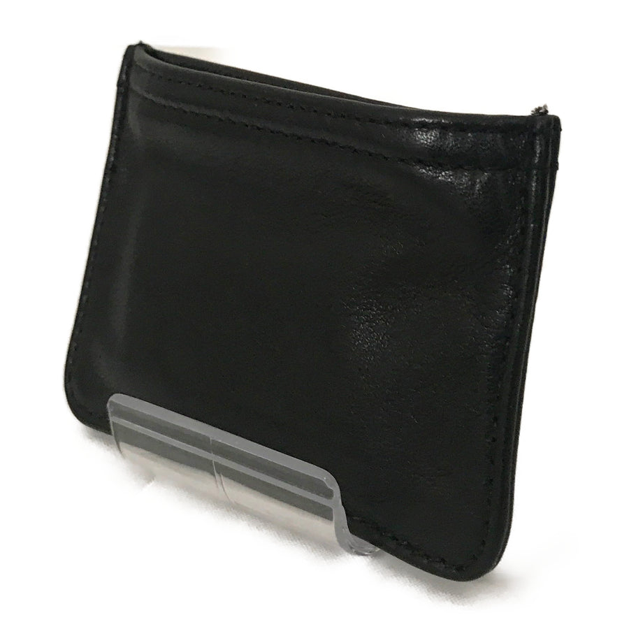 CHROME HEARTS/Coin purse/Leather/BLK/Plain