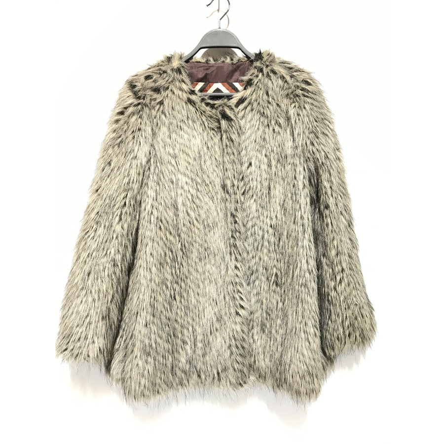 MARC BY MARC JACOBS/S/Coat/GRY/Fur