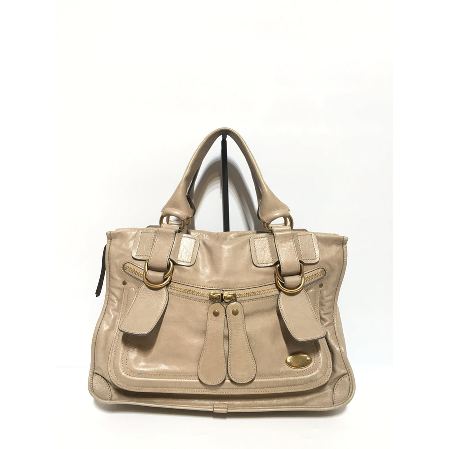 SEE BY CHLOE/Tote Bag/leather/BEG