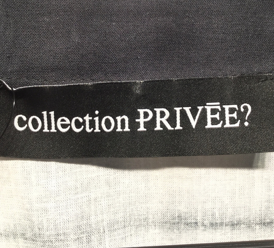 collection PRIVEE//LS Blouse/M/MLT/Cotton/All Over Print