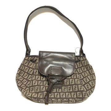 FENDI//Hand Bag//BRW/Cotton/Monogram