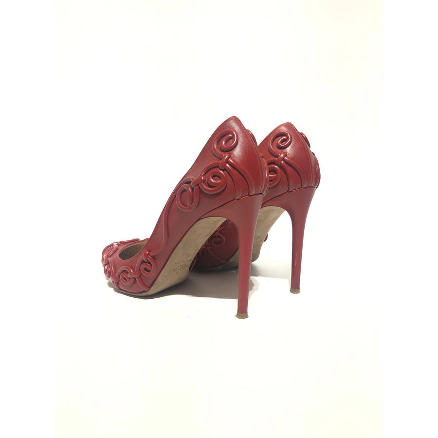 VALENTINO GARAVANI/40/Heels/RED/Others/Iridescent