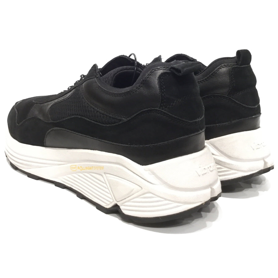 uniform experiment/VIBRAM SOLE SNEAKER/Low-Sneakers/27cm/BLK/UE-189121
