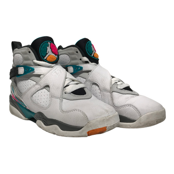 Jordan/JORDAN8 SOUTH BEACH/Hi-Sneakers/7W/BLK/Others/Plain