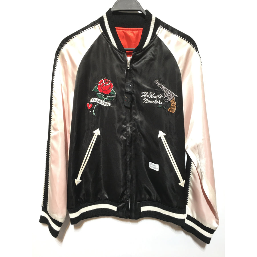 BEDWIN & THE HEARTBREAKERS/18SS/SOUVENIR JKT/2/BLK