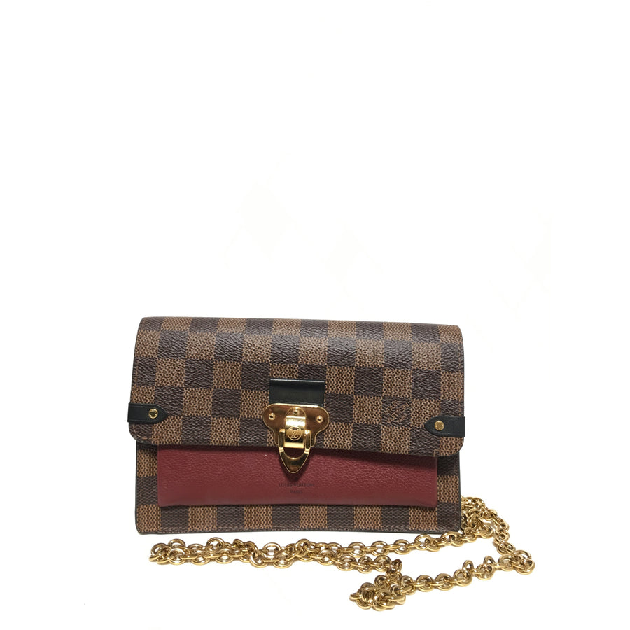 LOUIS VUITTON/Damier/Bag/BRW/Others/All Over Print