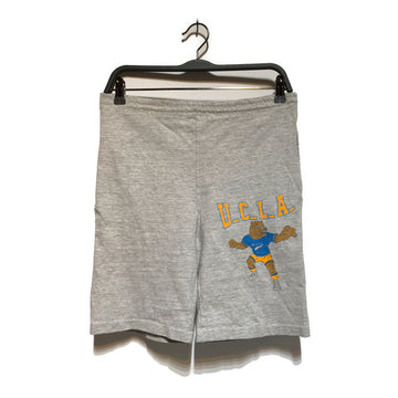 Vintage/UCLA BRUINS/Shorts/M/GRY/Cotton/Graphic