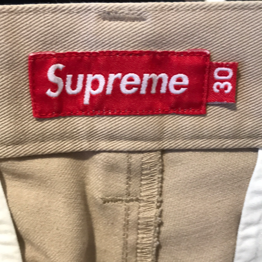 Supreme/Pants/30/BEG/Cotton