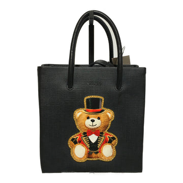 MOSCHINO/BEAR/Bag/./BLK/Leather/Graphic