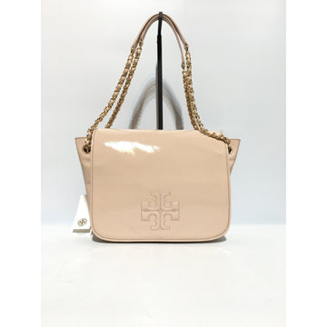 TORY BURCH//Cross Body Bag/PNK/Leather/Plain