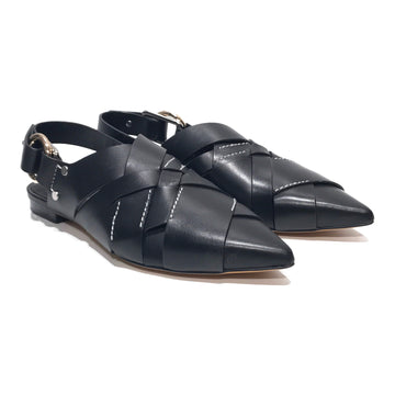 3.1 phillip lim//Flat Shoes/US 7/BLK/Leather/Plain