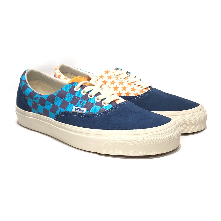 VANS/OG ERA LX/Low-Sneakers/US9/BLU/Cotton/All Over Print