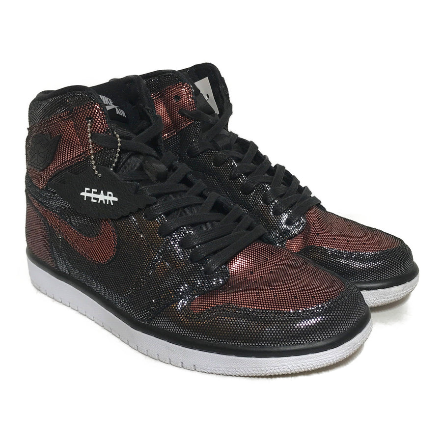 Jordan/WMNS AIR JORDAN 1 HIGH OG 'FEARLESS'/Hi-Sneakers/US10/MLT/Others/Glitter
