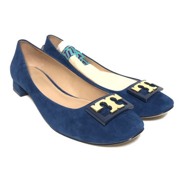 TORY BURCH//Heels/US10/NVY/Velour/Plain