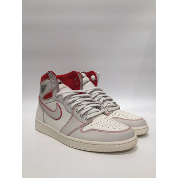 NIKE/US13/Hi-Sneakers/WHT/Others/Plain