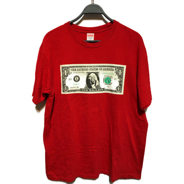 Supreme/THE ALTERED STATES OF AMERICA/T-Shirt/L/RED/Cotton/Graphic