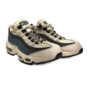 NIKE/AIR MAX 95/Low-Sneakers/6.5/WHT/Others/Plain