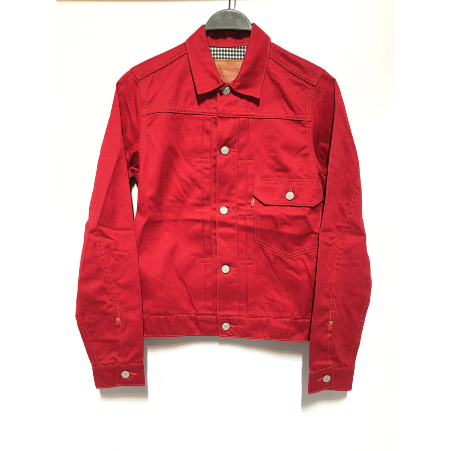 Supreme x Levis/13AW/Type 1 Jacket/S/Cotton/RED/