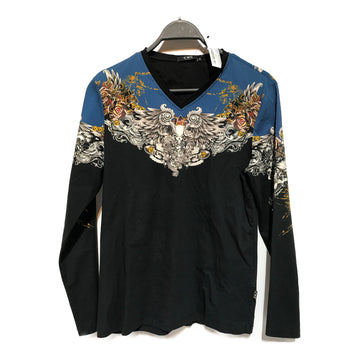 CoSTUME NATIONAL//LS Shirt/50/MLT/Cotton/Floral Pattern