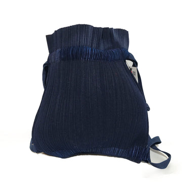 PLEATS PLEASE ISSEY MIYAKE/BACKPACK/Bag//NVY/Others/Plain