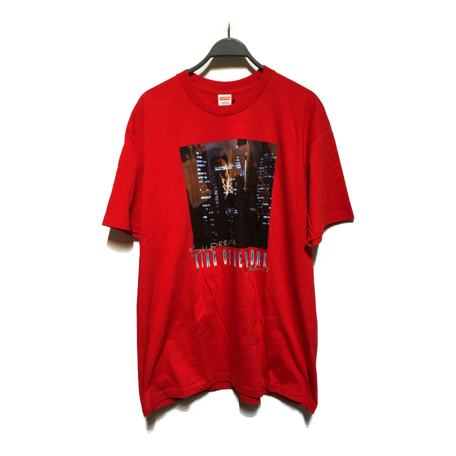 Supreme//T-Shirt/XL/RED/Cotton/Graphic