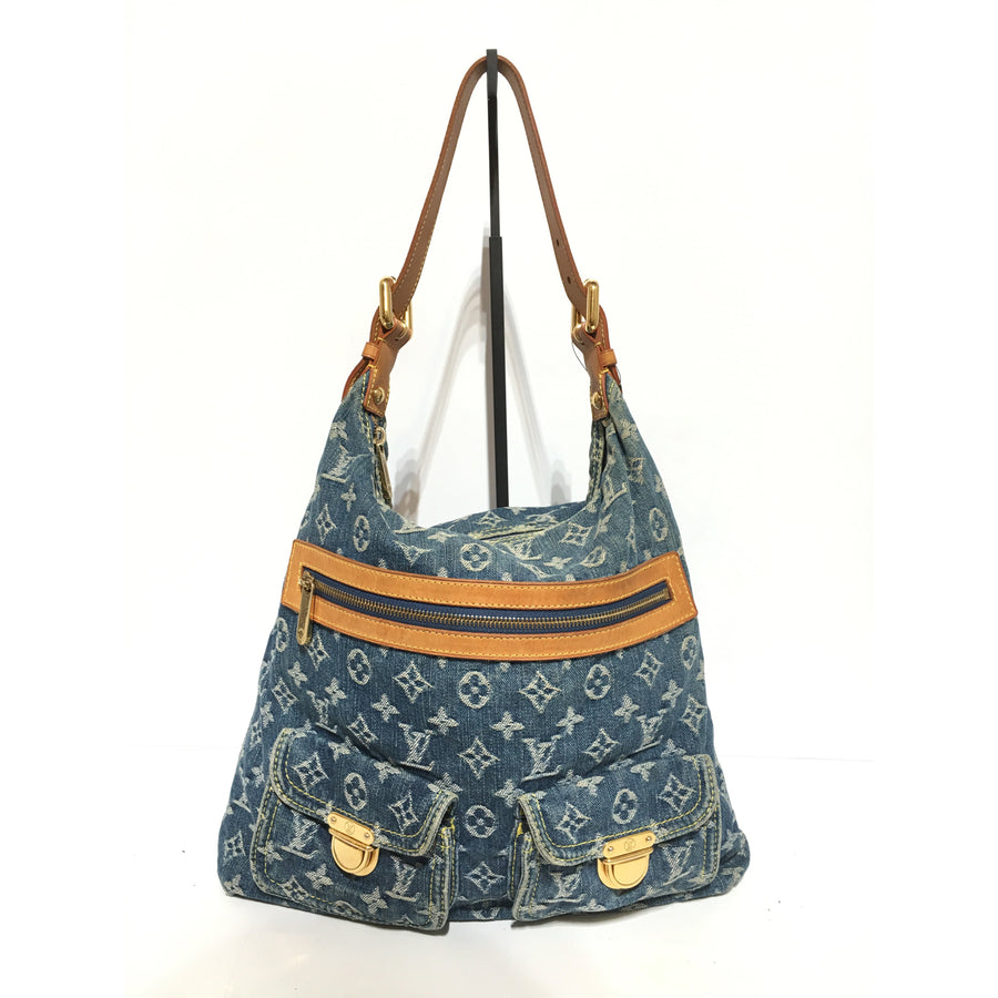 LOUIS VUITTON/Denim/Blue/Monogram/Bag