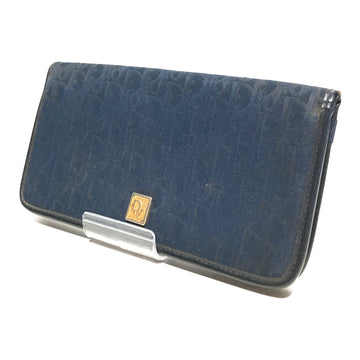 Christian Dior/Vintage/Wallet//BLU/Denim/Plain