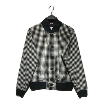 Original Fake//Jacket/1/BLK/Cotton/Hombre Check