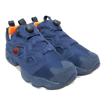 Reebok//Low-Sneakers/US10.5/NVY/Polyester/Plain