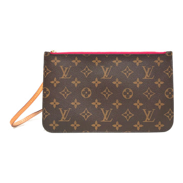 LOUIS VUITTON/CLUTCH /Clutch Bag/./BRW/Others/Monogram