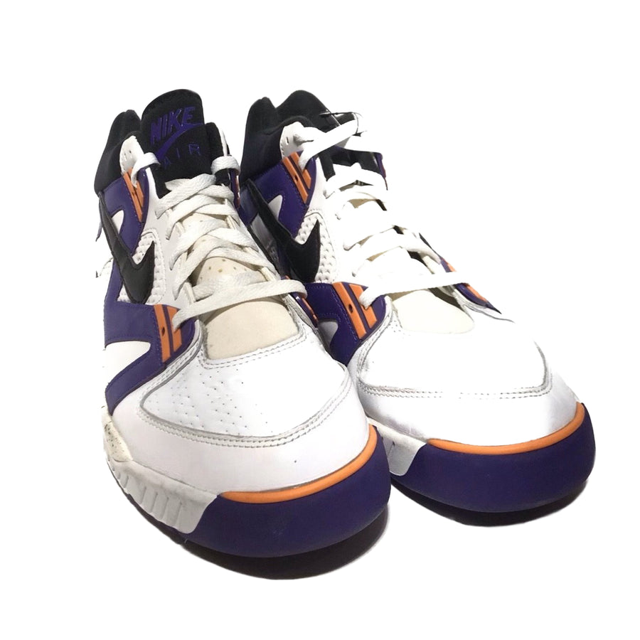 NIKE/Air Tech Challenge III OG Purple/US13/Hi-Sneakers/PPL/Leather/Plain