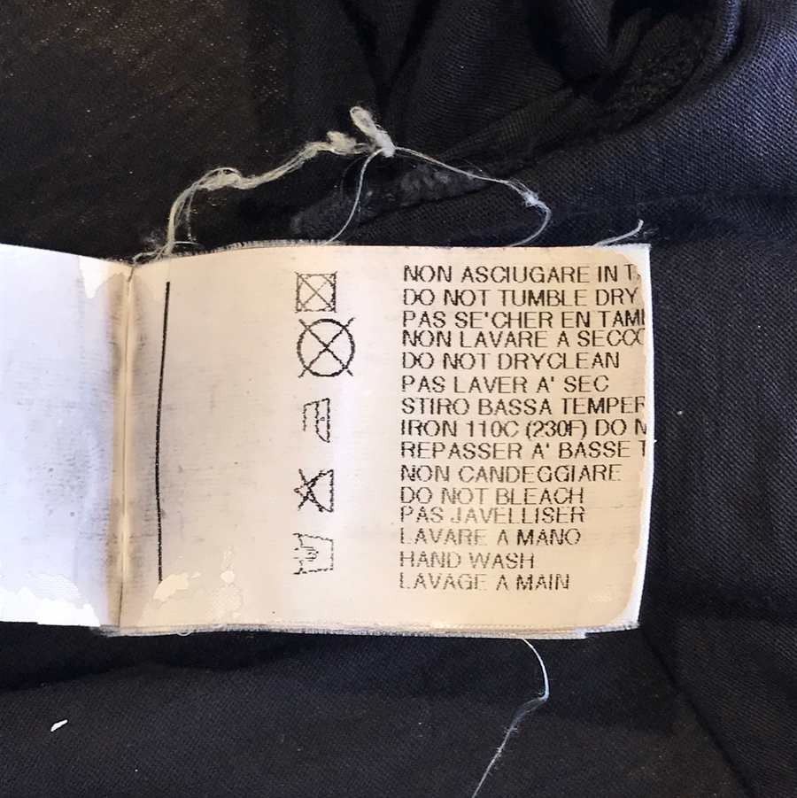 Rick Owens//LS T-Shirt/L/BLK/Others/Plain