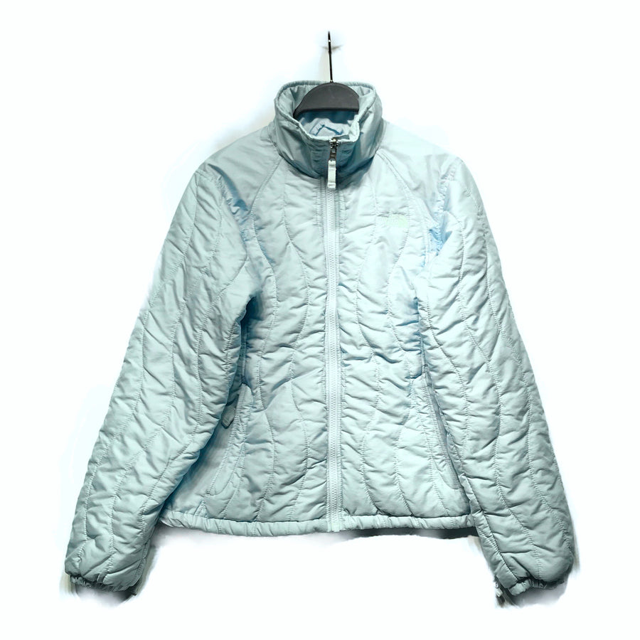 THE NORTH FACE//Puffer Coat/M/BLU/Nylon/Plain