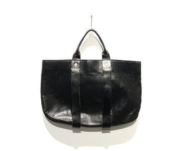CLARE V./Tote Bag//BLK/Leather/Plain
