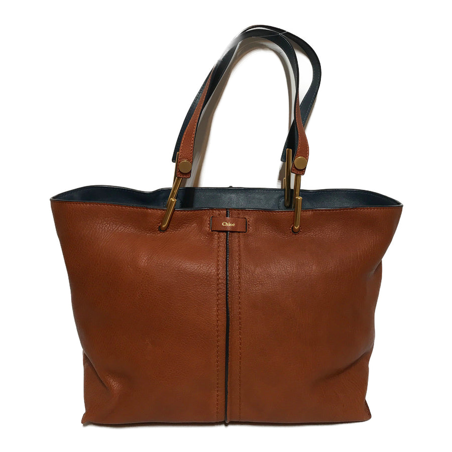 Chloe/Tote Bag/Leather/BRW