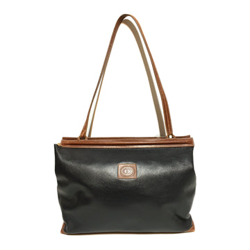 GUCCI/BROW /Tote Bag//BLK/Leather/Plain