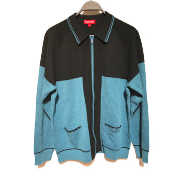 Supreme/BIG STRIPE ZIP/Heavy Cardigan/./MLT/Wool/Stripe