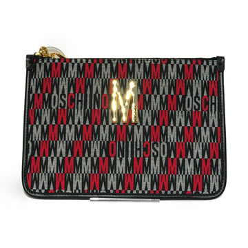 MOSCHINO/MONOGRAM/Clutch Bag/./MLT/Others/All Over Print