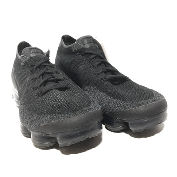 NIKE/Air Vapormax Flyknit Black Dark Grey/US9.5/Low-Sneakers/BLK/Cotton/Plain