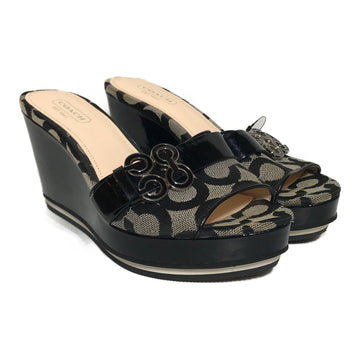 COACH/COACH HEEL/Heels/5.5/MLT/Others/All Over Print