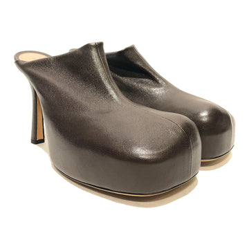 BOTTEGA VENETA//Heels/US9/BRW/Leather/Plain