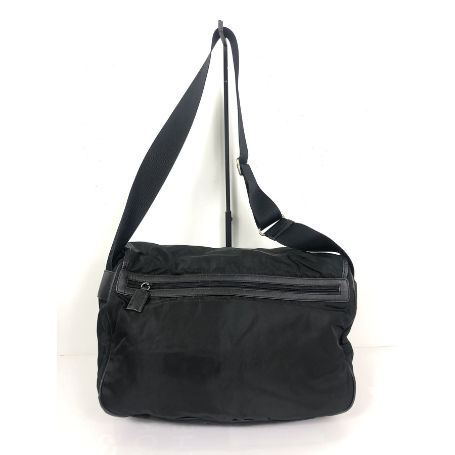 PRADA/Shoulder Bag/nylon/BLK