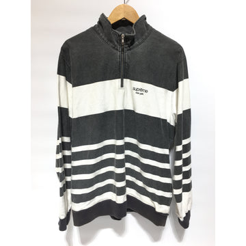 Supreme/L/Sweatshirt/GRY/Cotton/Stripe