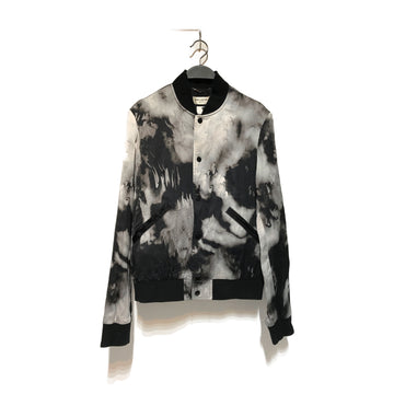 SAINT LAURENT//Jacket/46/BLK/Others/All Over Print